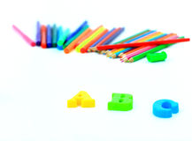 School accessories. Royalty Free Stock Photography