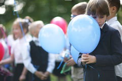 School-age boy Royalty Free Stock Photo