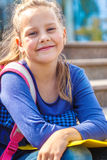 School aged girl Royalty Free Stock Photo