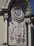 School Alphonse Daudet, Nîmes architecture detail, France Stock Photos