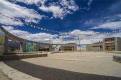 School Amphitheatre. In Ladakh India Stock Image