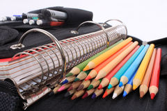 School and art supplies Stock Images