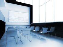 School audience. Interior of a school audience for employment Royalty Free Stock Photography