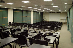 School auditorium Stock Photo