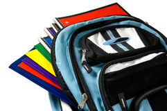 School Back Pack Stock Photo