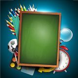 School background Stock Photography