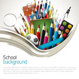 School background Royalty Free Stock Photography