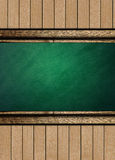 School background. The school background with accessories stock illustration