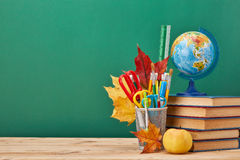 School background. Back to school. royalty free stock photos