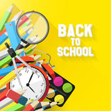 School background Royalty Free Stock Photos