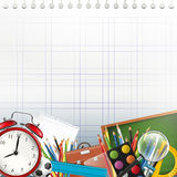 School background with copyspace Royalty Free Stock Photo