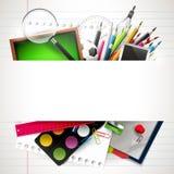 School background with copyspace Stock Photos