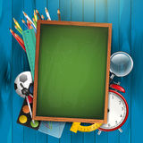 School background with copyspace Stock Photography