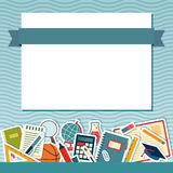 School background with place for text Stock Photos