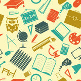 School background. Seamless Royalty Free Stock Image