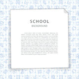 School Background with Squared Sheet Stock Images