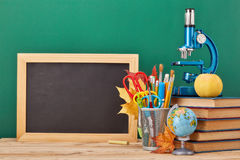 School background. Back to school. stock images