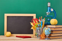School background. Back to school. Royalty Free Stock Images