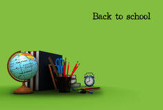 School background Stock Photos