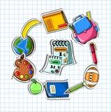 School background,vector Stock Photo