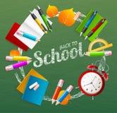 School Background. Vector Stock Images