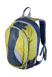 School backpack. On white background Royalty Free Stock Photo