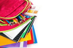 School backpack Stock Images