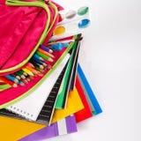 School backpack Stock Image