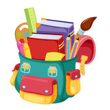 School bag. Back to school,school bag illustration Royalty Free Stock Image
