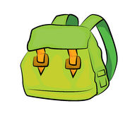 School bag cartoon Royalty Free Stock Image