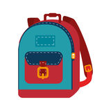 School bag equipment icon Stock Photo