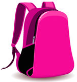 School bag. Vector file of  school bag Stock Photo