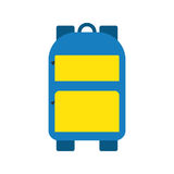 School bag vector isolated Stock Image