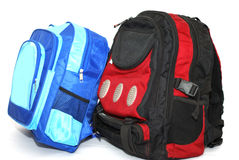 School bags Royalty Free Stock Image