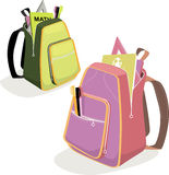 School bags Stock Photo