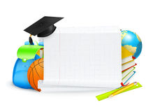 School banner Stock Photography