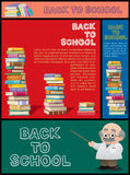 School Banner Set Part 3 Royalty Free Stock Photos