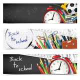 School Banners Royalty Free Stock Image