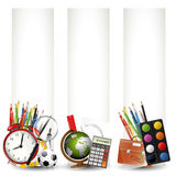 School banners Royalty Free Stock Photos