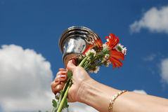 School Bell. At the fist school day. A tradition in Bulgaria and other European countries Stock Images