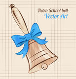 School bell Royalty Free Stock Image