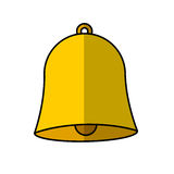 school bell isolated icon Royalty Free Stock Image