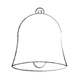 School bell isolated icon. Vector illustration design Stock Photos