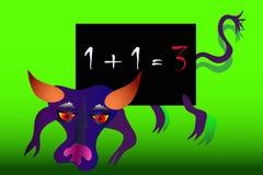 School blackboard Royalty Free Stock Photography
