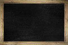 School blackboard. With blank area for copy royalty free stock photography
