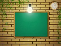 School blackboard Stock Photography