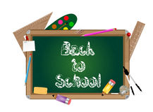 School blackboard Royalty Free Stock Photography