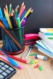 School blackboard Stock Images