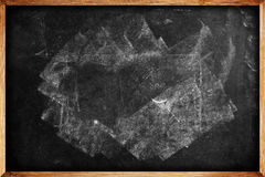 School blackboard as education background Royalty Free Stock Photo