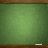 School blackboard. Empty school blackboard, place for your content royalty free stock images